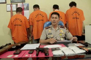 4 Pengguna dan Pengedar Sabu Diamankan Polisi Aceh
