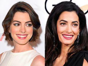 Anne Hathaway dan Amal Alamuddin Dibilang Mirip, Cantik Mana?
