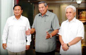 Survei LSI: SBY, Prabowo dan Wiranto Masih Berpeluang Jadi Ketum