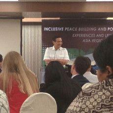 Luhut Panjaitan: Penyelesaian Konflik Memang Sulit, Tapi Indonesia Bisa
