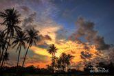 Cantiknya Senja di Tanjung Lesung, Banten