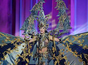Menang Kostum Nasional Terbaik di Miss Universe 2014, Elvira: Beban Setahun Terangkat