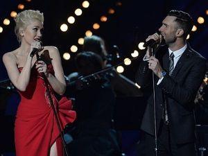 Duet Romantis Adam Levine dan Gwen Stefani Pukau Panggung Grammy 2015