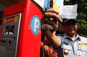 Dishub DKI Akan Evaluasi Parkir Elektronik di Jalan Sabang