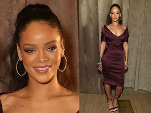 Rihanna Seksi dan Elegan di New York Fashion Week