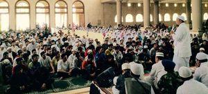 Geng Motor Bertato Tobat Ikut Zikir, Pengurus Masjid Sempat Heran