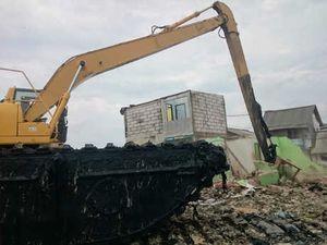 Refungsi Bantaran Sisi Timur Waduk Pluit Ditargetkan Mulai Maret