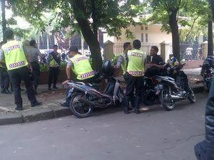 Jelang Putusan Konflik PPP, Area PTUN Dijaga Ketat Polisi