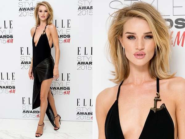 Raih Model of the Year, Rosie Huntington-Whiteley Tampil Superseksi