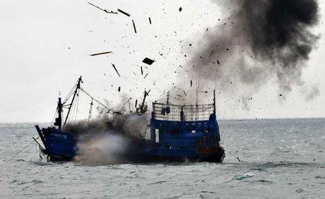4 Kapal Pencuri Ikan dari Filipina di Laut Sulawesi akan Ditenggelamkan