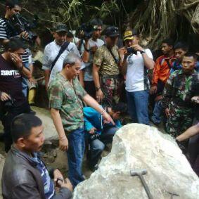 2,5 Ton Batu Giok Gorontalo yang Ditemukan Sudah Dijual
