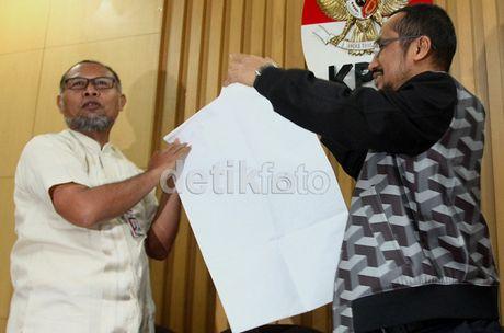 Disayangkan, Kriminalisasi pada Samad dan BW Tak Dibahas KPK dengan Polri