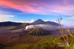 Potret Keindahan Panorama Gunung Bromo
