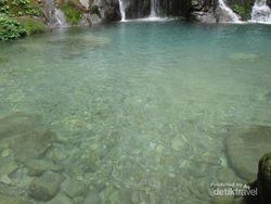 Air Terjun di Langkat Ini Airnya Sebening Kaca