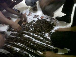 Polisi Amankan 1.235 Butir Amunisi Senpi Hasil Temuan Warga di Bireuen