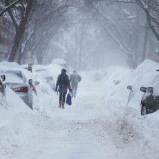 Nyaris 3 Meter, Ketebalan Salju di Boston AS Cetak Sejarah!