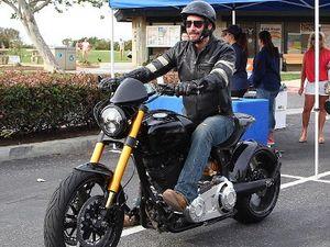 Keanu Reeves Pamer Motor Rp 1 M