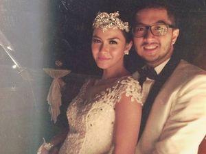 Bahagia! Ini Foto-foto Pernikahan Revalina S Temat dan Rendy