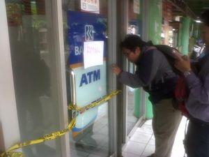 ATM BRI Di Sleman Dibobol, Kerugian Rp 300 Juta