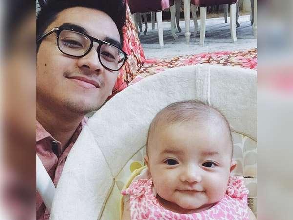So Cute! Foto dengan Pacar Aurel, Putri Ashanty Tersenyum Genit