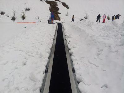 Asyiknya Belajar Ski di Pegunungan Alpen, Prancis