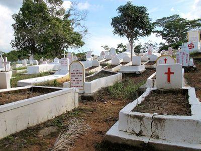 Kuburan Serba Putih yang Cantik di Batam