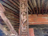 Ukiran Erotis Kama Sutra di Kuil Pashupatinath, Nepal
