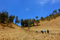 Saat Kemarau, Gunung Semeru Serasa Negara Lain