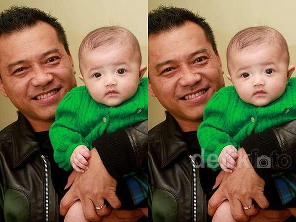 Anang Hermansyah dan Putrinya yang Super Cute!