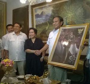 Sejarah Koalisi Prabowo Subianto-Rachmawati Soekarnoputri