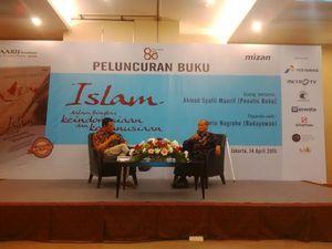 Ultah ke 80, Syafii Maarif Luncurkan Buku Soal Islam Indonesia