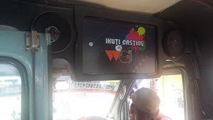 Soal TV Iklan di Mikrolet, Penumpang: Banyakin yang Kayak Gini