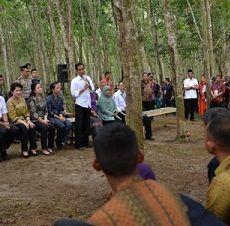 Presiden Jokowi Awali Pembagian Kartu Indonesia Sehat di Sumut