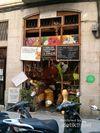 Kios Unik di Kawasan Kota Tua Barcelona