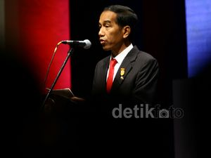 Jokowi Buka Asian African Bussines Summit
