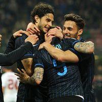 Perubahan Skema Serangan Inter yang Mengoyak Gawang Roma di Ujung Pertandingan