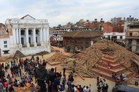 Duh Sayang, 5 Objek Wisata Bersejarah Hancur di Nepal