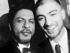 Ini Selfie Zayn Malik Bareng Shahrukh Khan yang Bikin Heboh India