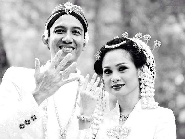 Selamat! Andien dan Irfan Wahyudi Resmi Menikah
