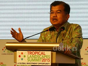 Wapres JK Buka Tropical Landscape Summit