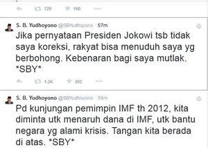 Ini Pernyataan Presiden Jokowi yang Dikoreksi SBY