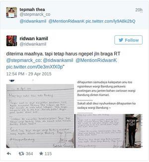 Ada 2 yang Ngaku Bersalah Rusak Taman KAA ke Ridwan Kamil, Siapa Mereka?