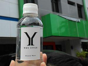 ELF Heboh Rebutan Air Mineral Gratis Berlabel Why Style