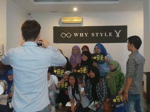 Masuk, Belanja dan Foto Bareng Adik Yesung SuJu di Why Style Jakarta