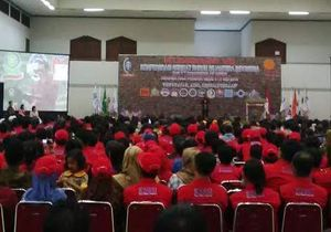 Jokowi Hadiri Kongres Konfederasi Serikat Buruh Sejahtera Indonesia