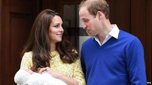 Putri Pangeran William dan Kate Middleton Diberi Nama Charlotte Elizabeth Diana