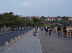 Taman & Pantai Cantik di Qingdao Sea Sight Walk