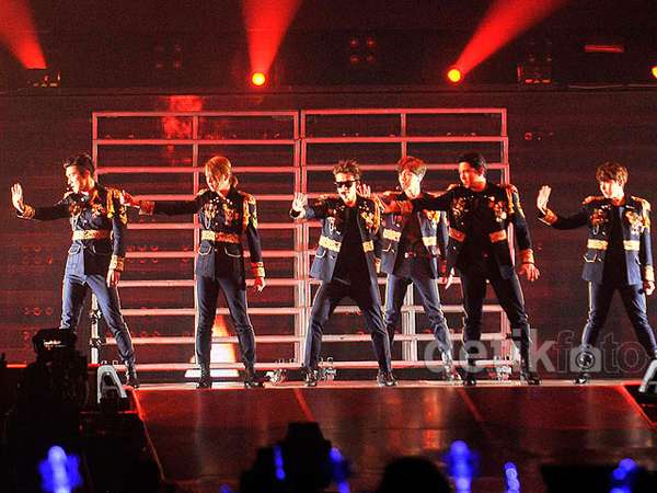 Super Junior Bikin ELF Histeris di Konser 'Super Show 6 Indonesia'
