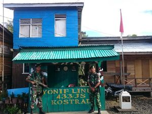 Kisah Prada Wiranto Penjaga Tapal Batas RI-Malaysia di Pulau Sebatik