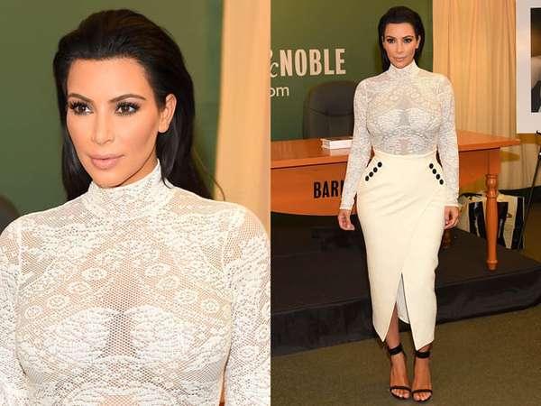 Tubuh Montok Kim Kardashian